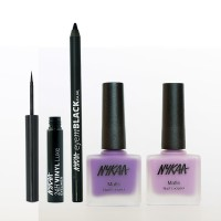 Nykaa Divalicious Eyes And Nails Combo