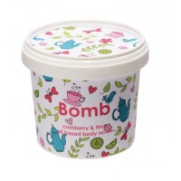 Bomb Cosmetics Cranberry & Lime Shower Scrub
