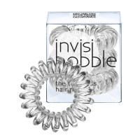 Invisibobble Hair Ring - Crystal Clear - Pack Of 3