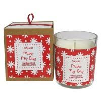 "Danali - Votive Candle - Sandalwood - fragrance ""Make my Day"""