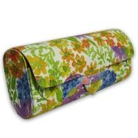 Danali Sunglasses Case - Purple Daisy Print