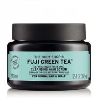 The Body Shop Fuji Green Tea Refreshingly Purifying Cleansing Hair Scrub