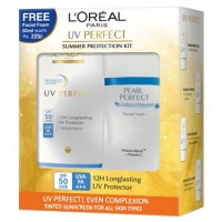 L'Oreal Paris UV Perfect Even Complexion + White Perfect Facial Foam Worth Rs. 225/-