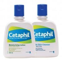 Cetaphil Clean & Moist Regime Combo