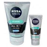 Nivea Men Oil Control All In One Face Wash + Free All In One Face Wash