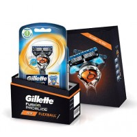 Gillette Flexball ProGlide Combo Pack - Flexball Razor with 4 Flexball Blades (Rs.499 Off)