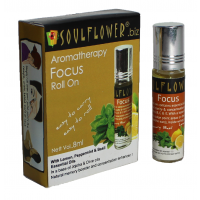 Soulflower Aromatherapy Focus Roll On