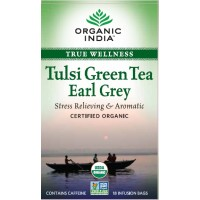 Organic India Tulsi Earl Grey Tea (18 Tea Bag)