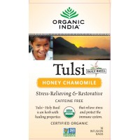 Organic India Tulsi Honey Chamomile Tea (18 Tea Bag)