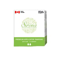Sirona Premium Applicator Tampons - Mini Flow