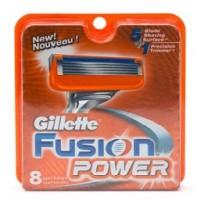 Gillette Fusion Power shaving Razor Blades (Cartridge) 8s pack