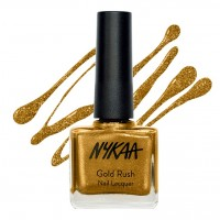 Nykaa Gold Rush Nail Lacquer - Gold Mine 113