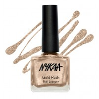 Nykaa Gold Rush Nail Lacquer - Gold Soul 121