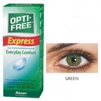 Freshlook 30 Day Lens Green + Free 120ml Lens Solution