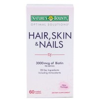 Nature's Bounty Hair, Skin and Nails 3000 mcg of Biotin