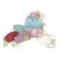Island Kiss Puerto Berry Blush + Cherry Blossom Flores+ Alma Vanilla & Inges Lavender Combo+ Free Beach Bag