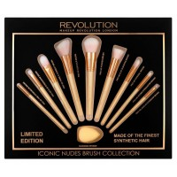 Makeup Revolution Iconic Nudes Brush Collection