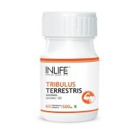 INLIFE Tribulus Terrestris Gokshura 60 Vegetarian Capsule For Strength & Stamina
