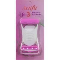 Actifit Disposable Razor (Skin Blade) (Pack Of 3)