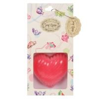 Soap Opera Handmade Designer Swirled Heart Soap