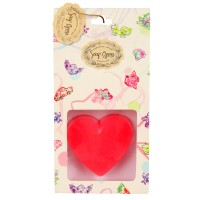 Soap Opera Handmade Designer Message Heart Soap