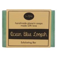 Soap Opera Ocean Blue Loofah Exfoliating Bar