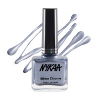 Nykaa Mirror Chrome Nail Lacquer - Intergalactic Blue 161