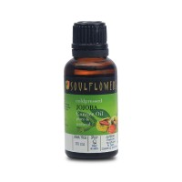 Soulflower Jojoba Carrier Oil - Coldpressed