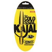 Maybelline New York The Colossal Kajal 12Hour Smudge Proof - Deepest Black