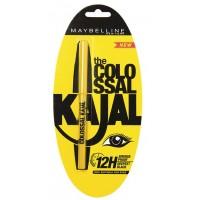 Maybelline New York The Colossal Kajal 12Hour Smudge Proof - Deepest Black