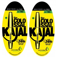 Maybelline New York Colossal Kajal 24HR Pack Of 2 @20% Off