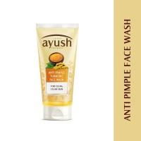 Lever Ayush Anti Pimple Turmeric Face Wash