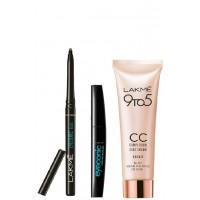 Lakme Eyeconic + CC Cream (Bronze) + Eyeconic Curling Mascara