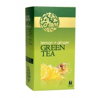LaPlant Green Tea - Lemon & Ginger - 25 Tea Bags