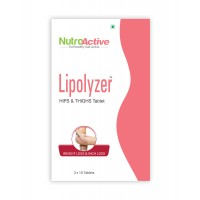NutroActive Lipolyzer Hips & Thighs Tablet