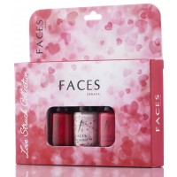 Faces Nail Lacquer Kit - Love Struck Collection