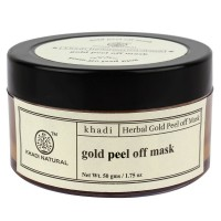 Khadi Natural Gold Peel Off Mask