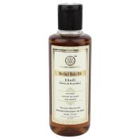 Khadi Natural Henna Rosemarry Amla Herbal Hair Oil (For Hair Growth)