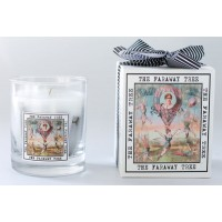The White Window Clear Container With Scented Softwax - Antibes Candle
