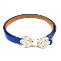 The Blur Store Blue Bow Belt