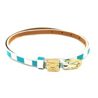 The Blur Store Blue White Checkers Belt