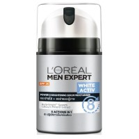 L'Oreal Paris Men White Activ Power 8 Brightening Serum Moisturizer SPF 26
