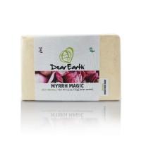 Dear Earth Myrrh Magic Anti-Wrinkle Organic And Vegan Soap - 150g