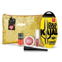 Maybelline Instaglam Christmas Special Pouch - Coral Chic