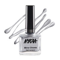 Nykaa Mirror Chrome Nail Lacquer