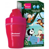 Morisons Baby Dreams Safari Insulated Straw Sipper - Pink