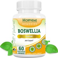 Morpheme Remedies Boswellia (Shallaki) Capsules for Joints Support - 500mg Extract