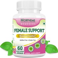 Morpheme Remedies Female-Support Supplements For Menstrual Comfort - 600mg Extract