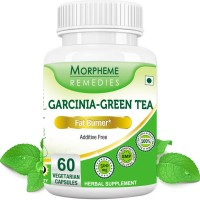 Morpheme Remedies Garcinia Cambogia Green Tea - Fat Burner Supplements - 500mg Extract