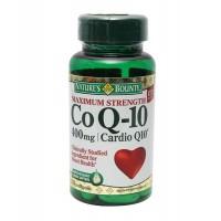 Nature's Bounty Maximum Strength Co Q-10 - 400mg Cardio Q 10